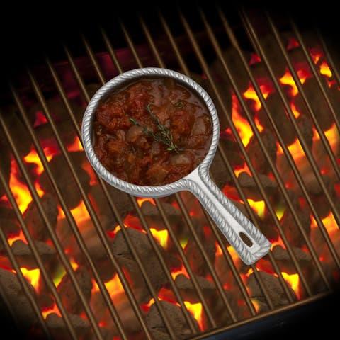 Wilton Armetale Gourmet Grillware 1.5 Qt Saucepot