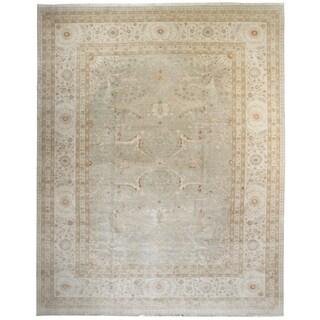 Wool Tabriz Rug (10' x 14') - 10' x 14'