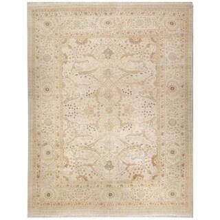 Wool Tabriz Rug (9'8'' x 13'7'') - 9'8'' x 13'7''