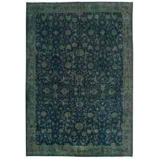 Wool Tabriz Rug - 9'9'' x 14'1''