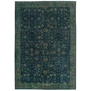 Wool Tabriz Rug (9'9'' x 14'1'') - 9'9'' x 14'1''