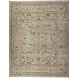 Wool Tabriz Rug (10' x 14'3'') - 10' x 14'3''
