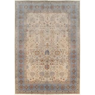 Wool Tabriz Rug - 9'9'' x 13'8''