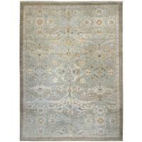 Wool and Silk Tabriz Rug - 10' x 13'9''
