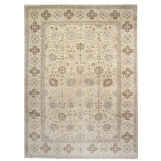 wool Tabriz Rug - 9'7'' x 13'3''