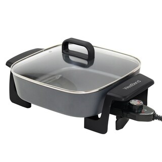 West Bend Extra-Deep 12-Inch Skillet w/Grease Tray