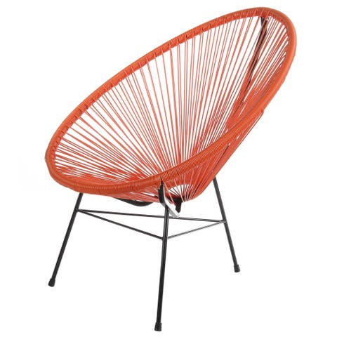 Handmade Acapulco Papasan Patio Lounge Chair