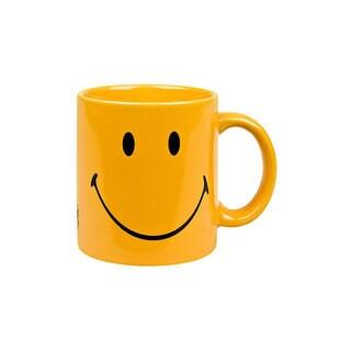Waechtersbach Fun Factory Set of 6 Smiley Yellow Mugs