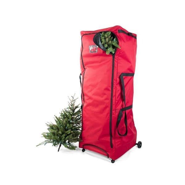 Shop Extra Large Upright Christmas Tree Storage Duffel ...