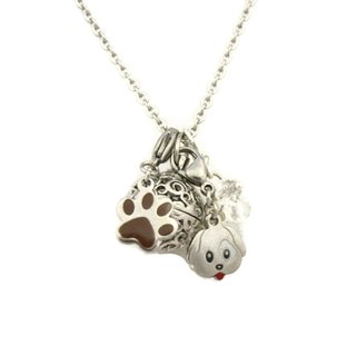 Puppy Love Kids 16-inch Essential Oil Charm Necklace