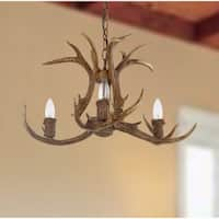Safavieh Lighting 21.5-inch Makani Antler Chandelier
