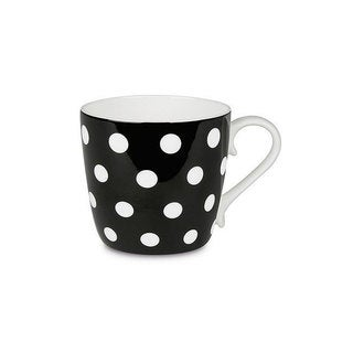 Konitz Set of 4 Polka Dots Mugs