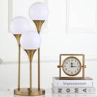 Safavieh Lighting 25.2-inch Marzio Brass Gold Table Lamp