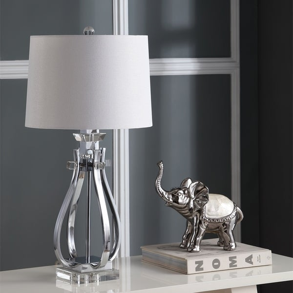 Safavieh Lighting 28-inch Desi Crystal Table Lamp