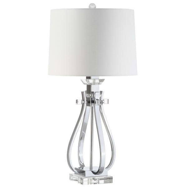Safavieh Lighting 28-inch Desi Crystal Table Lamp