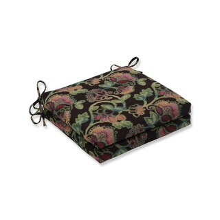 Pillow Perfect Outdoor/Indoor Vagabond Paradise Squared Corners Seat Cushion 20x20x3 (Set of 2)