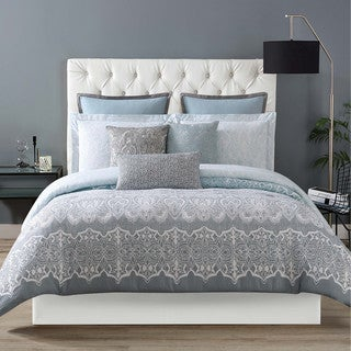 Christian Siriano Ombre Lace Printed 3-Piece Duvet Set