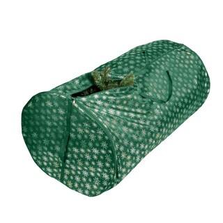 Honey-Can-Do 7.5' Tree Green Foil