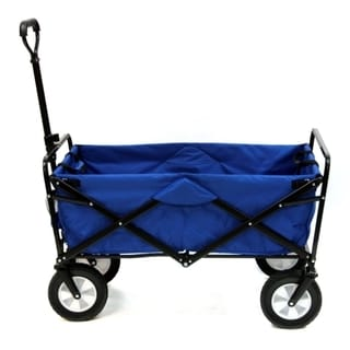 Folding Wagon  (Expanded Model) - Blue
