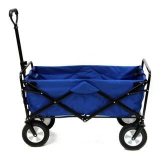 Folding Wagon (Expanded Model) - Blue