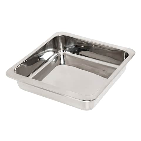 Honey-Can-Do Stainless Steel Square Pan 8-inch by 8-inch