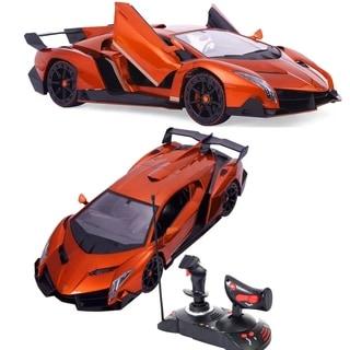 1/14 Lamborghini Sport Radio Remote Control RC Car Orange Gift