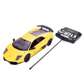 1/14 Lamborghini Murcielago Radio Remote Control RC Car Yellow Gift