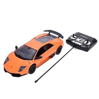1/14 Lamborghini Murcielago Radio Remote Control RC Car Orange Gift