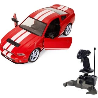 1/14 Ford Mustang Shelby Radio Remote Control RC Model Car Red Gift