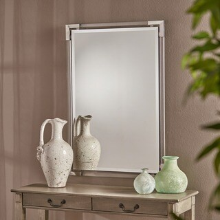 Ellissia Rectangular Wall Mirror by Christopher Knight Home - Clear