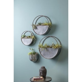 The Gray Barn Jartop Set of 3 Wall Planters