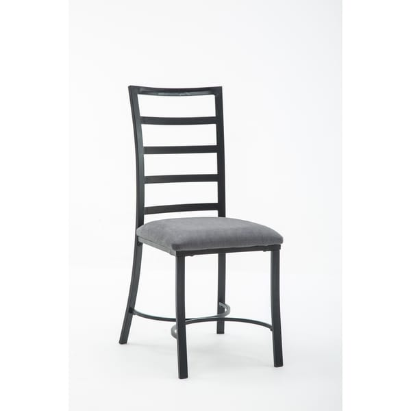 metal dining room chair | Shop Bastian Metal and Upholstered Dining Room Chair Set ...