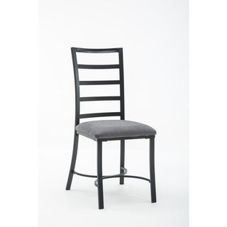 Bastian Metal and Upholstered Dining Room Chair Set of 4