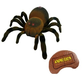 Dragon-i Animotion IR Remote Controlled Red Knee Flocked Spider