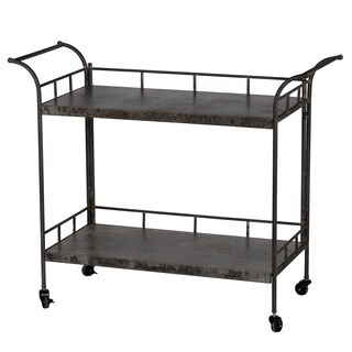 Quinby 2-Tier Decoartive Cart