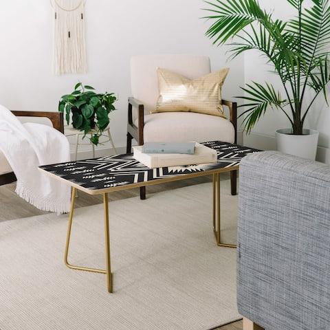 Deny Designs Colorado Onyx Coffee Table (2 Leg Options)