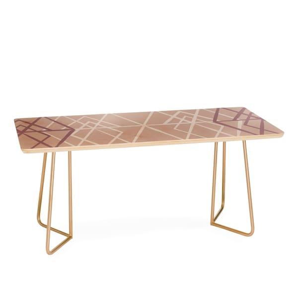 Mareike Boehmer Geometric Sketches 2 Coffee Table