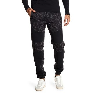 Printed Men's Jogger Fleece (Option: S)