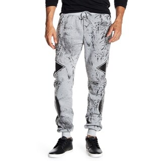 Tailored Recreation Men's Printed Fleece Jogger