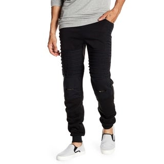 Men's Moto Jogger With Camo Details On Knee