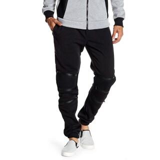 Men's Jogger With Zipper Details (Option: Black - S - R)