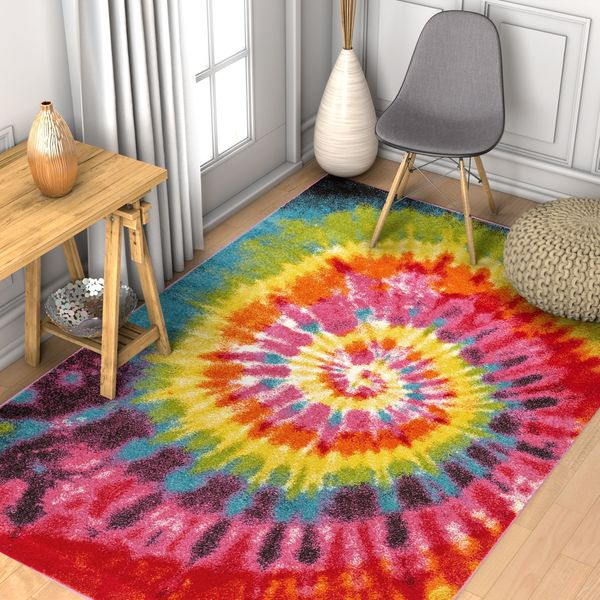 Well Woven Modern Bohemian Bright Multi Area Rug - 7'10 x 9'10