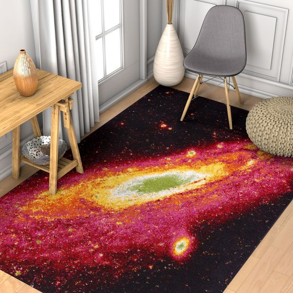 Well Woven Modern Space Orbit Abstract Multi Area Rug - 7'10 x 9'10