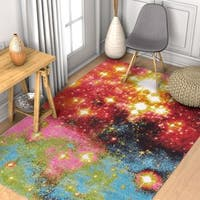 Well Woven Modern Stardust Abstract Multi Area Rug - 5'3 x 7'3