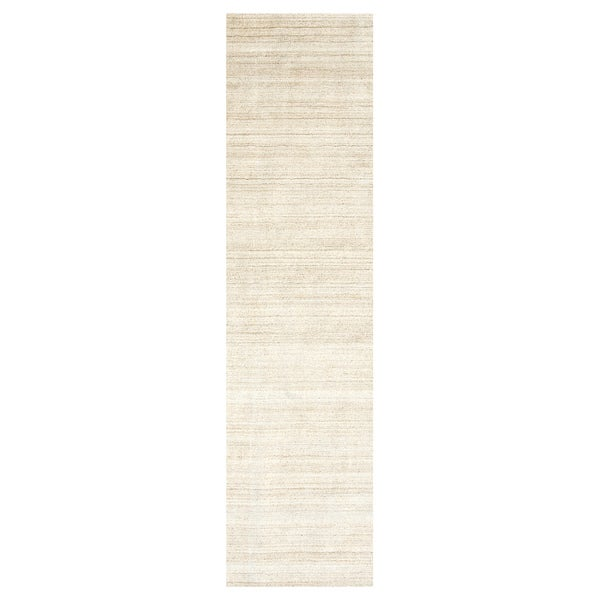 Handmade Herat Oriental Indo Hand-loomed Gabbeh Runner (India) - 2'6 x 10'
