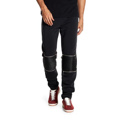 Men's Jogger With U.P Details On Knee