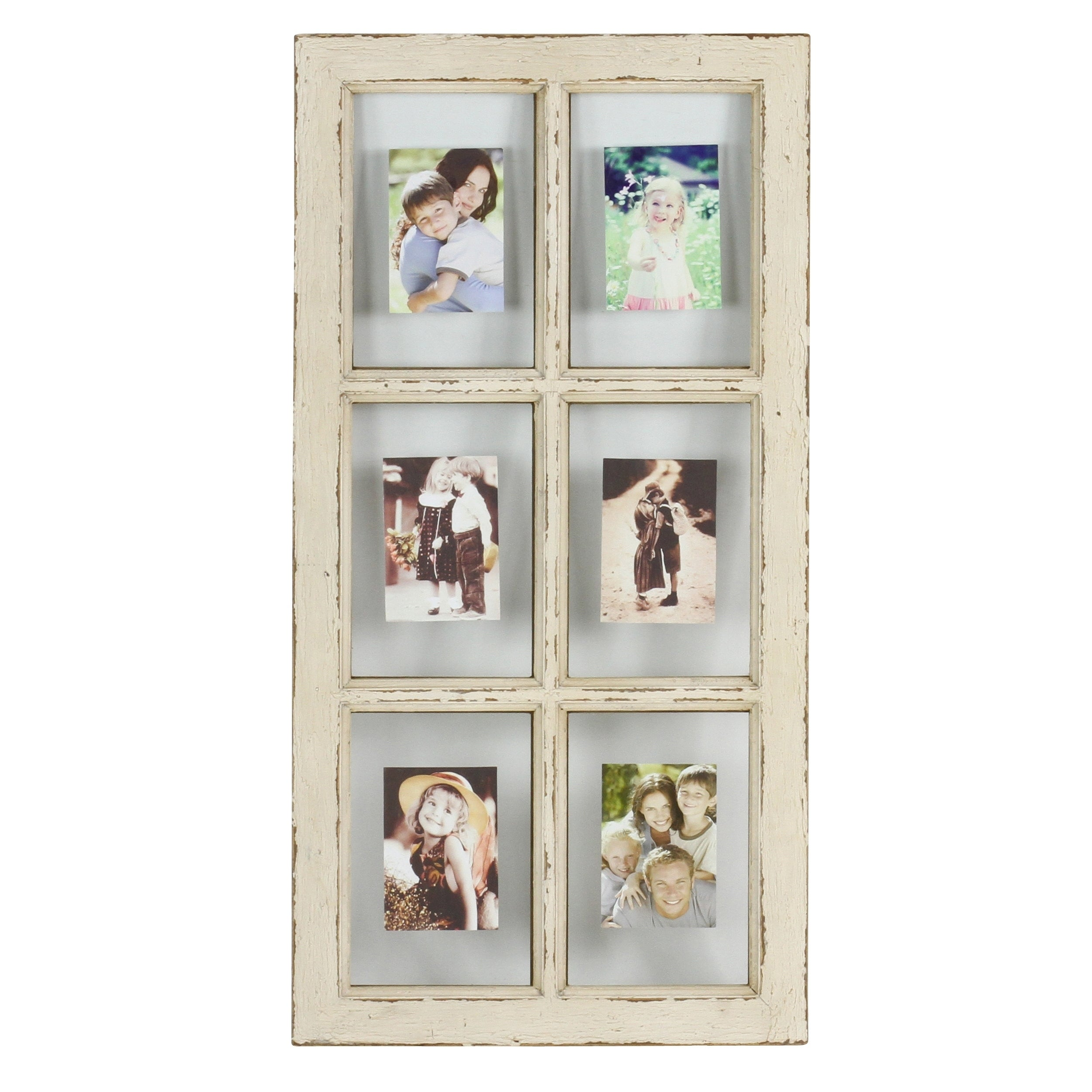 Shop Kate Faux Window Pane Picture Frame - Free Shipping On Orders ...