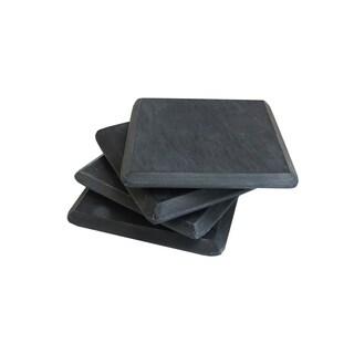 Slate Set of 4 Coasters Black