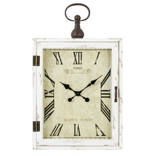Regency Farmhouse Wall Clock - N/A