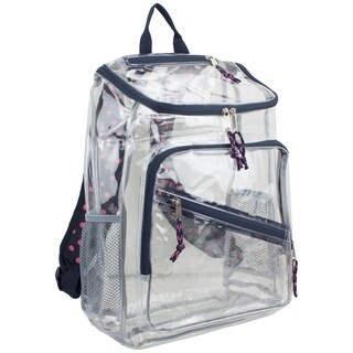 Eastsport clear top Loader backpack